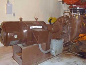 Return Activated Sludge Pump - Pumps RAS back to the aeration tanks