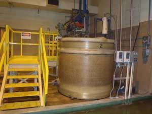 Batched Polymer Storage Tank